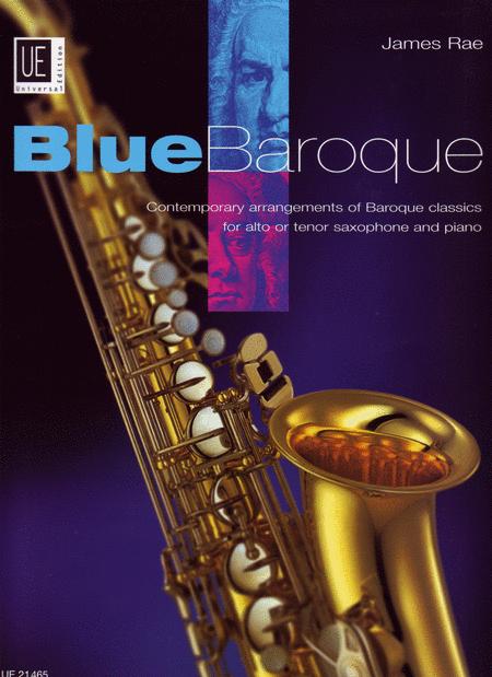 Blue Baroque Saxophone