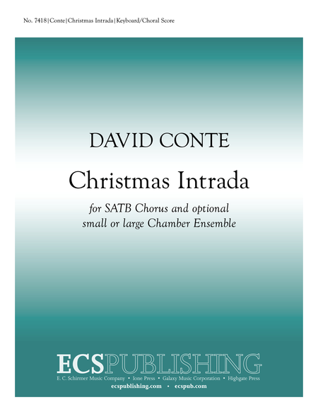 Christmas Intrada (Choral Score)