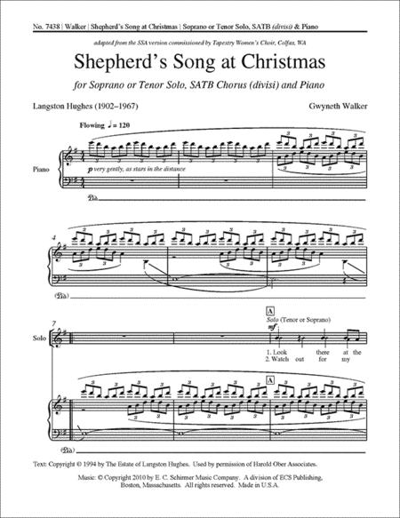 Shepherd's Song at Christmas