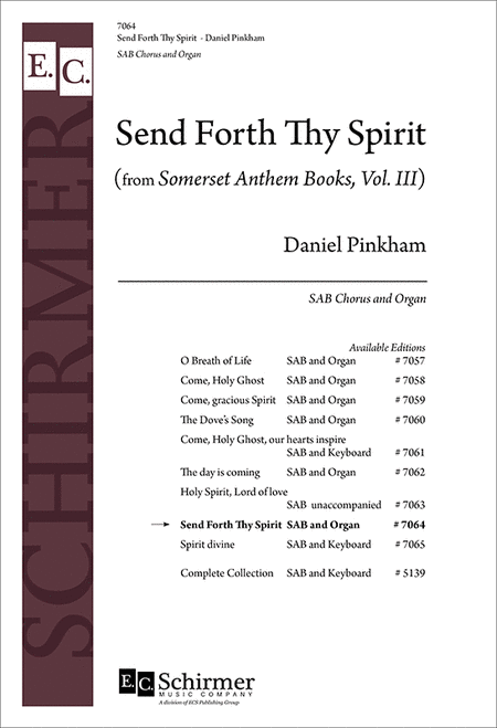 Send Forth thy Spirit