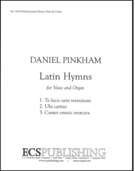 Three Latin Hymns