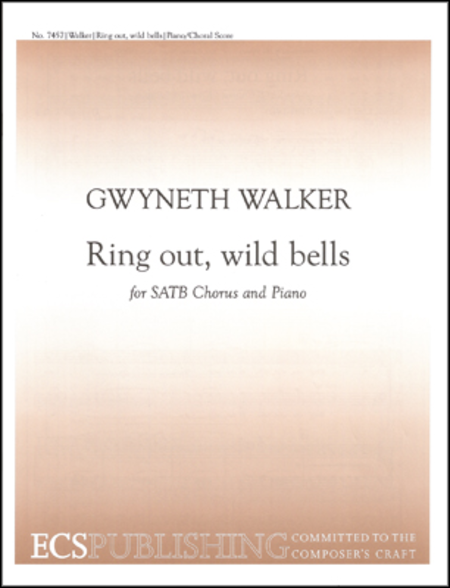 Ring Out, Wild Bells (Choral Score)