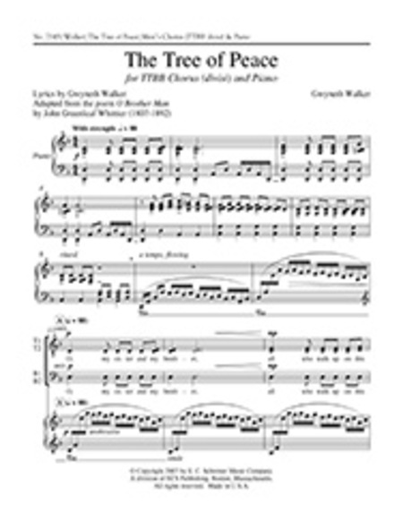 The Tree of Peace (Piano/Choral Score)