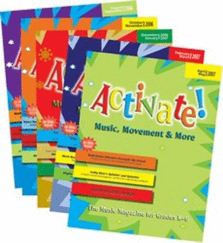 Activate! (2006-2007) Complete Set of Vol. 1