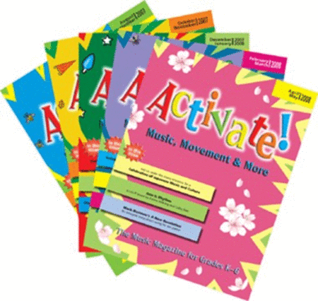 Activate! (2007-2008) Complete Set of Vol. 2