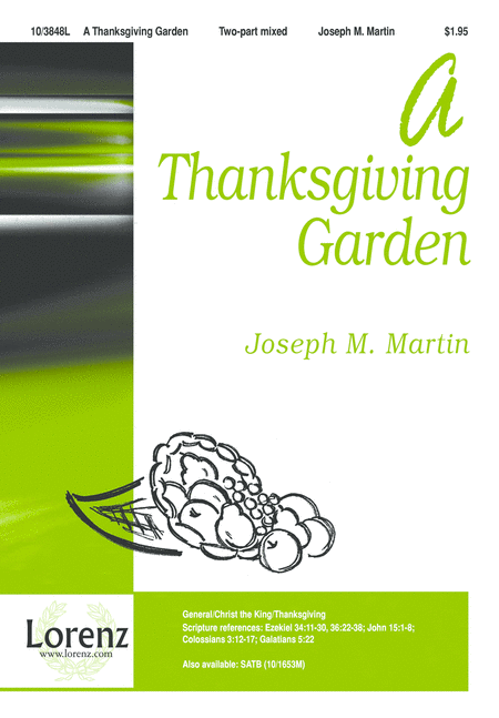 A Thanksgiving Garden
