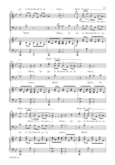 Sing a Jubilant Song