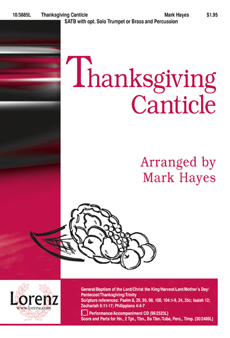 Thanksgiving Canticle