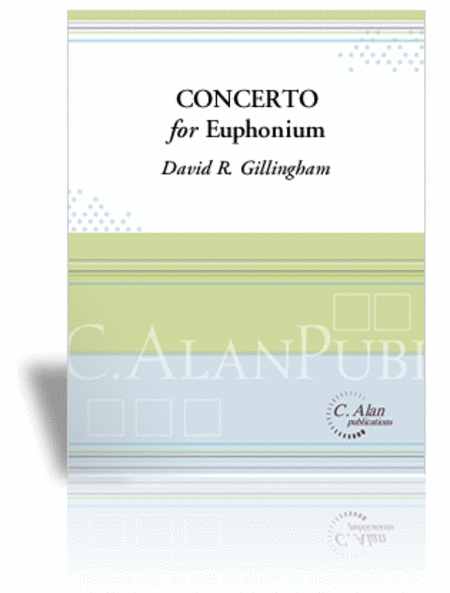 Concerto for Euphonium & Wind Ensemble (piano reduction)