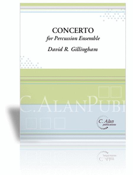 Concerto for Percussion Ensemble