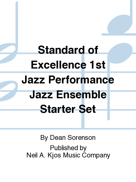 Standard of Excellence 1st Jazz Performance Jazz Ensemble Starter Set
