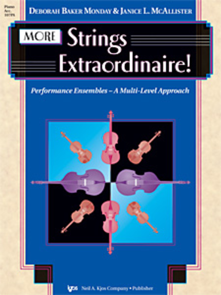 More Strings Extraordinaire! - Piano Accompaniment