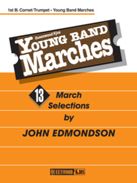 Young Band Marches - 1st B-flat Cornet/Trumpet