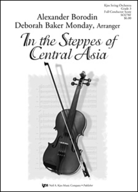 In the Steppes of Central Asia - Score