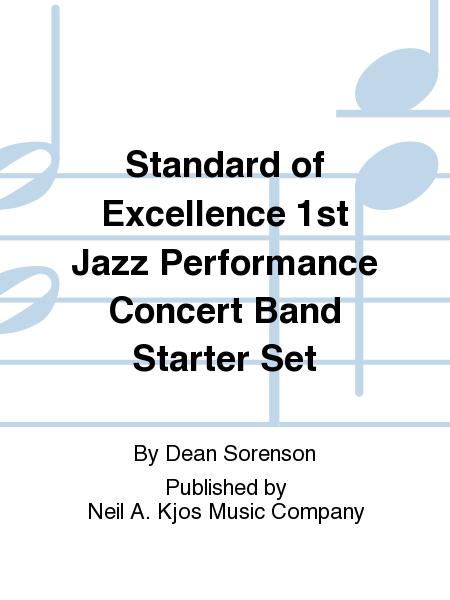 Standard of Excellence 1st Jazz Performance Concert Band Starter Set