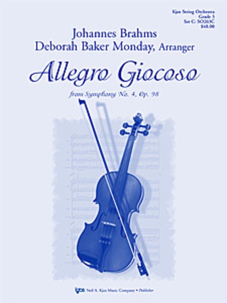 Allegro Giocoso from Symphony No. 4 (Brahms)