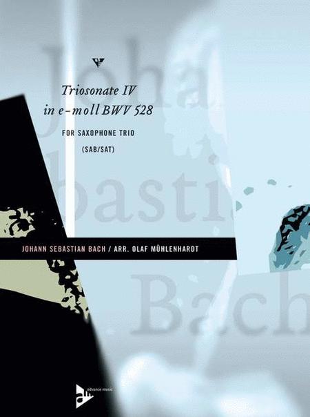 Triosonate IV In E-Molll (BWV 528)