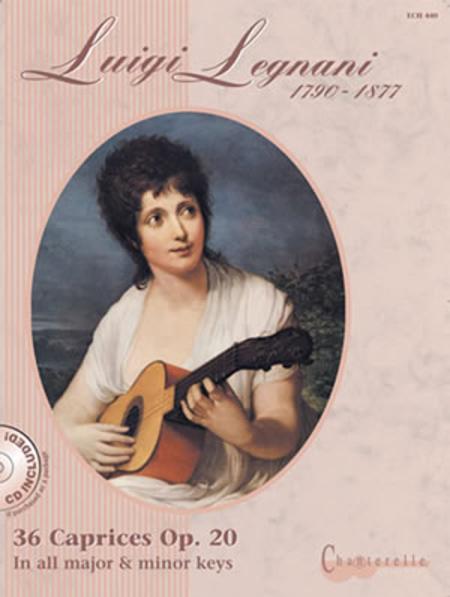 Luigi Legnani: 36 Caprices OP. 20 (1790-1877)