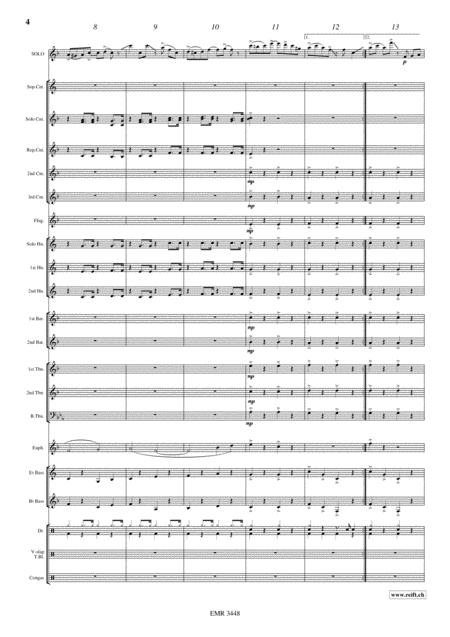 The Crazy Turkey (Euphonium or Baritone Solo)