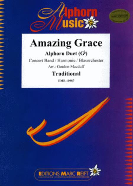 Amazing Grace (Alphorn Gb)