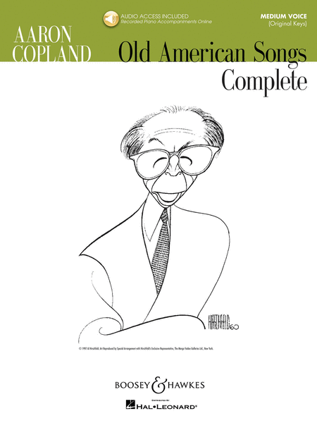 Aaron Copland - Old American Songs Complete (Medium Voice)
