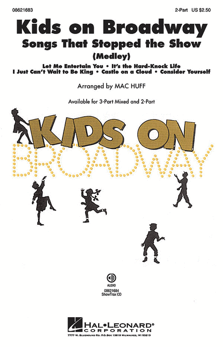Kids on Broadway: Songs That Stopped the Show - ShowTrax CD