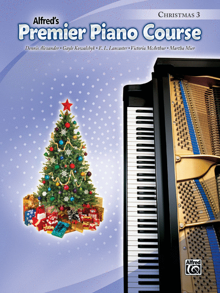 Premier Piano Course Christmas, Book 3