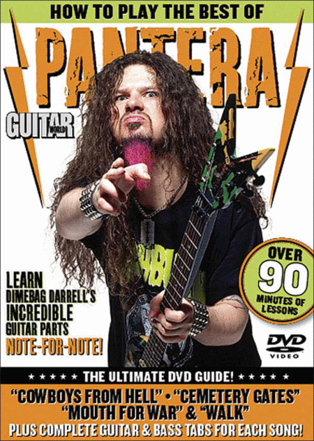 Guitar World -- How to Play the Best of Pantera