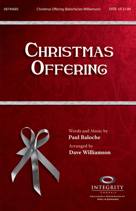 Christmas Offering - Accompaniment CD