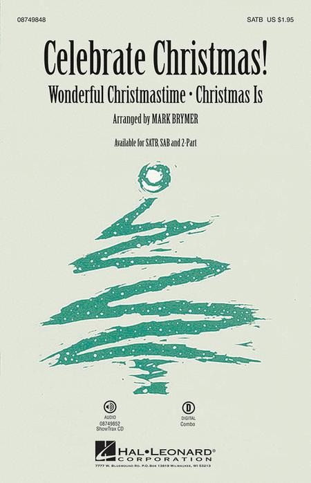 Celebrate Christmas! - ShowTrax CD