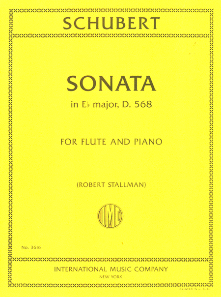 Sonata in E flat major, D. 568