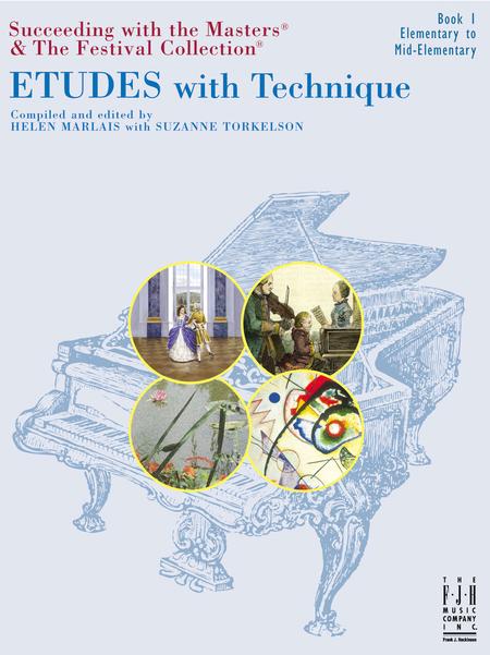 Etudes with Technique, Book 1