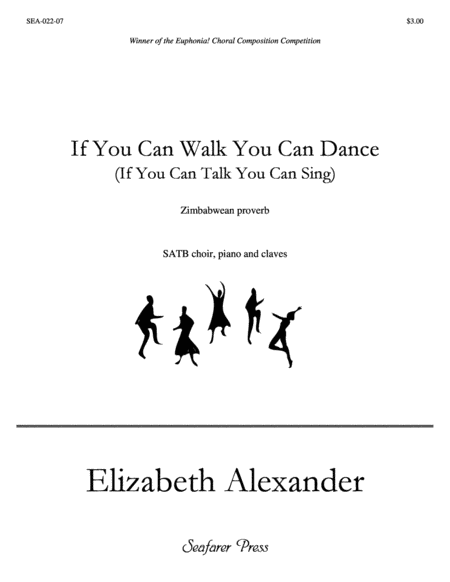 If You Can Walk You Can Dance (SATB)