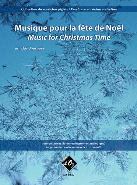 Collection du musicien pigiste, Musique pour la fete de Noel