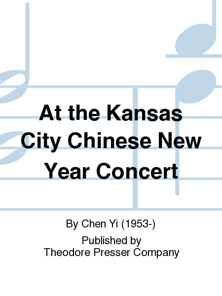 At the Kansas City Chinese New Year Concert