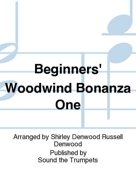 Beginners' Woodwind Bonanza One