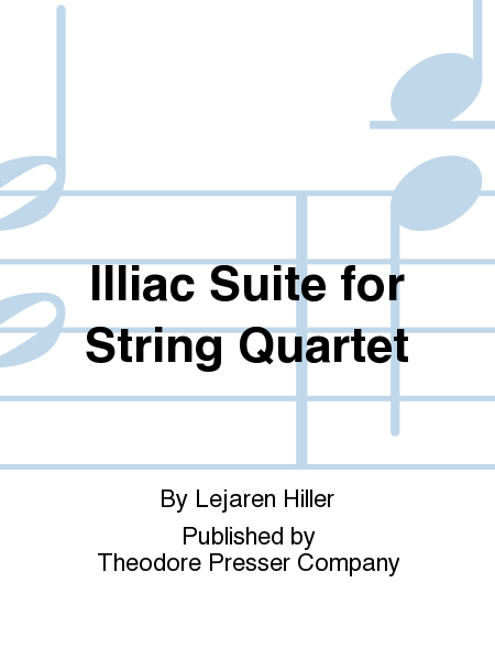 Illiac Suite For String Quartet
