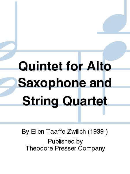 Quintet for Alto Saxophone and String Quartet