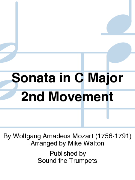 Sonata in C Major 2nd Movement