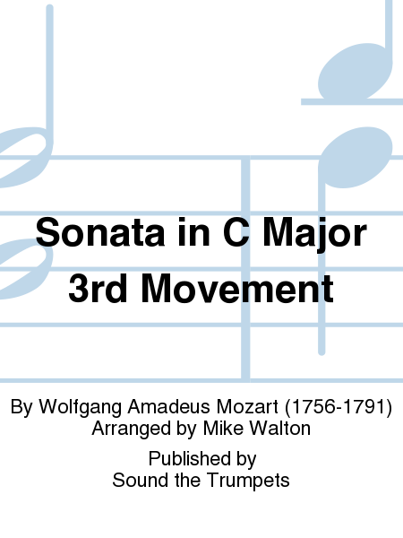 Sonata in C Major 3rd Movement