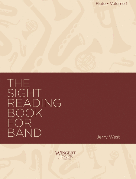 Sight Reading Book for Band, Vol. 1 - Flute