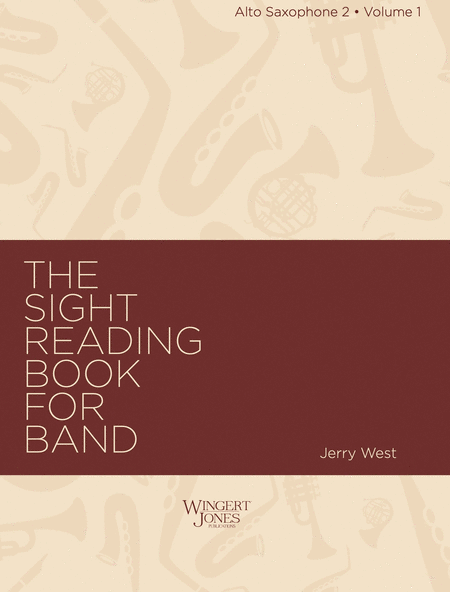 Sight Reading Book for Band, Vol. 1 - Alto Sax 2