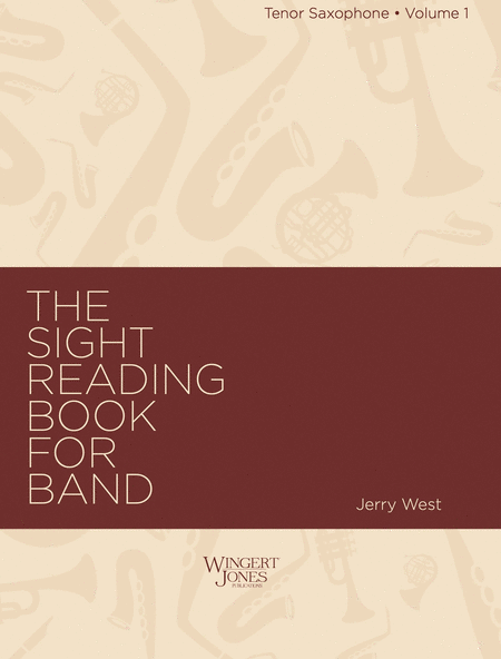 Sight Reading Book for Band, Vol. 1 - Tenor Sax