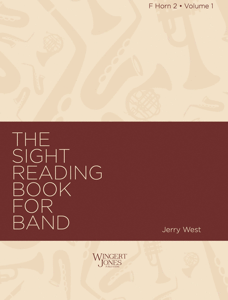 Sight Reading Book for Band, Vol. 1 - F Horn 2