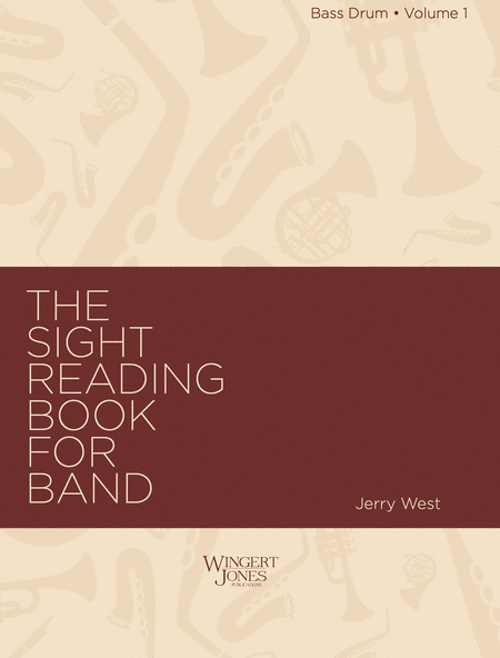 Sight Reading Book for Band, Vol. 1 - Bass Drum