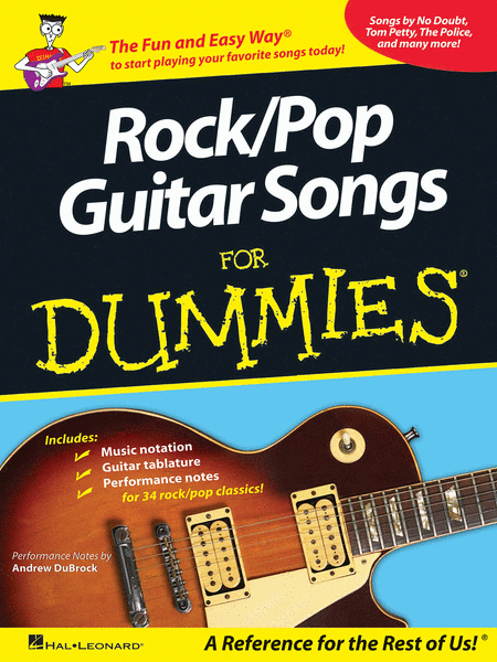 Rock/Pop Guitar Songs for Dummies