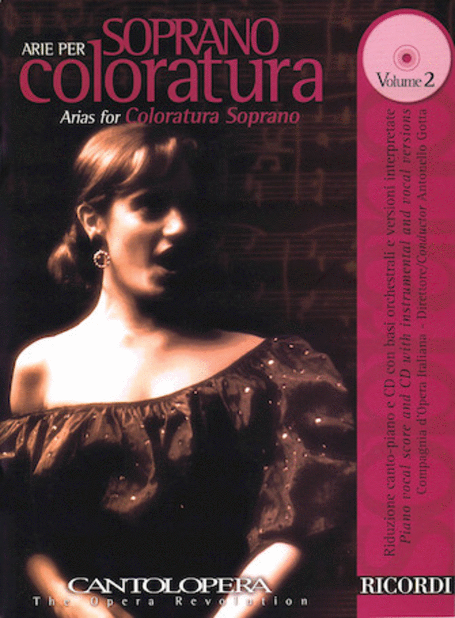 Arias For Coloratura Soprano Vol. 2