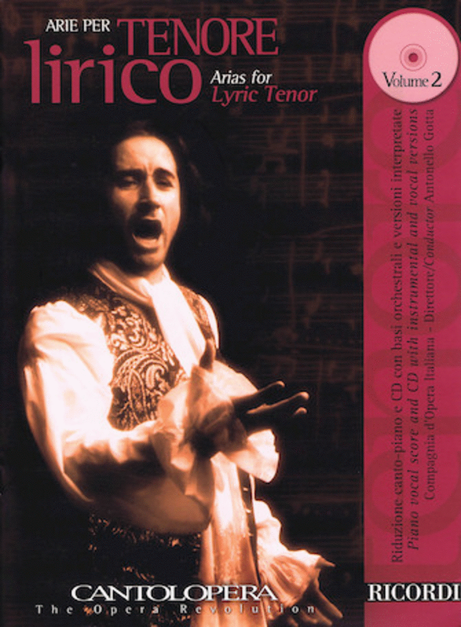 Arias For Lyric Tenor Vol. 2