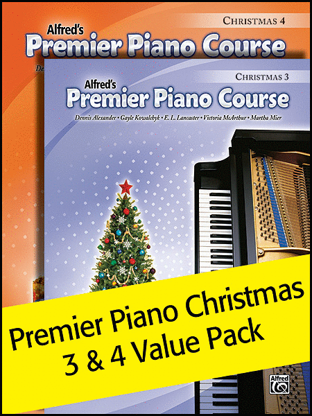 Premier Piano Course, Christmas 3 & 4 (Value Pack)