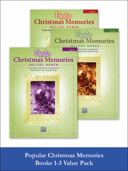 Popular Christmas Memories 1-3 (Value Pack)